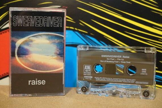 Raise by Swervedriver Vintage Cassette Tape