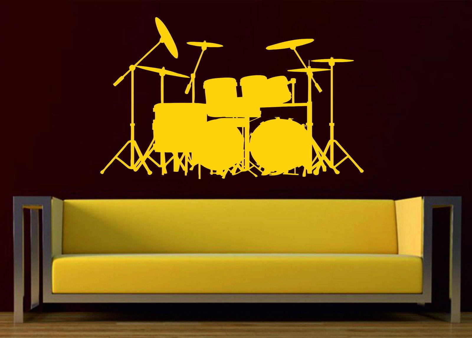 Luxury Drum Set Wall Art Frieze - Art & Wall Decor - hecatalog.info