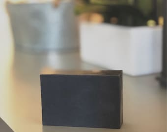 Activated Charcoal and Tea Tree Oil Shea Butter Bar Soap
