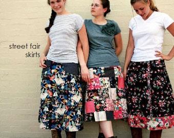 street fair skirts pattern by marie-madeline studio (M073)