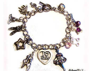 The ART Of DANCE - BALLET - Ltd Original Charm Bracelet by ShopAtLuxe