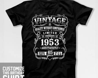 Beliebte Artikel Fur 65th Birthday Tshirt