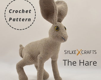 The Hare PDF Crochet Toy Pattern
