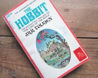 The Hobbit J R R Tolkien Authorized Edition 1970 26th Edition Paperback