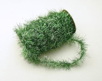 Green Tinsel Garland