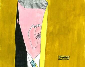 Englishman, Minimalism, British Gentleman, portrait