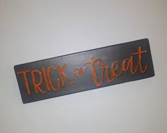 READY TO SHIP 4x12 Trick or Treat