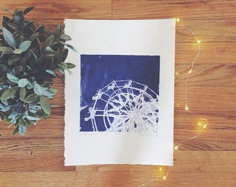 "Silkscreen Print - ""Don't Do It"" 
