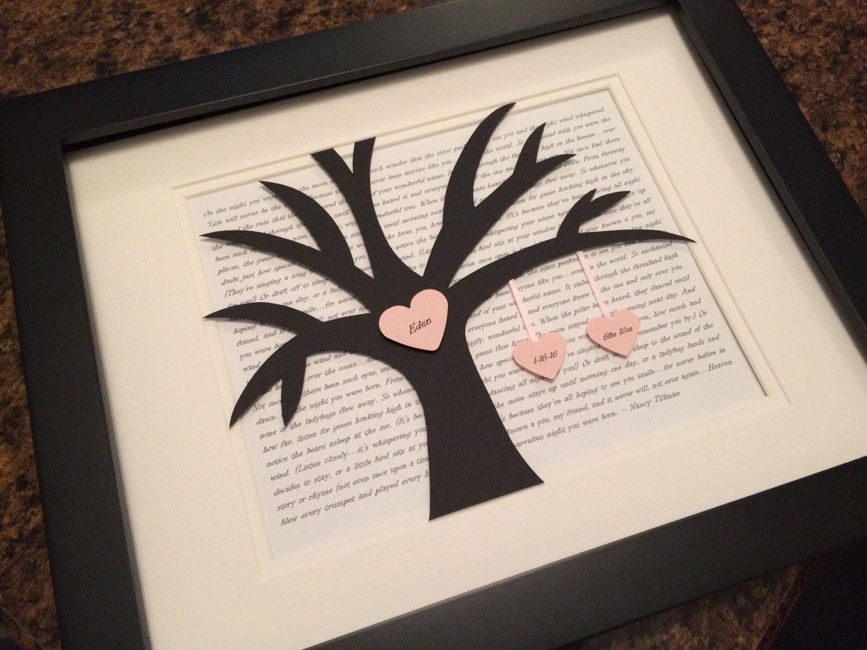 Family Tree Wedding Gift: 3D Family Tree Blended Family Wedding Gift Wedding Vows