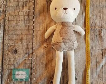 Geograbear The Traveller teddy bear