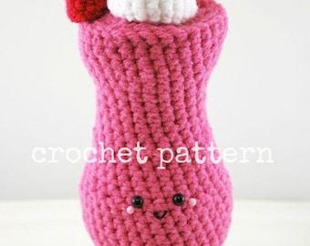 Amigurumi strawberry doll pattern : Crochet pattern amigurumi french fries crochet pattern crochet