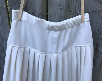 Cream Vintage Skirt - S/M