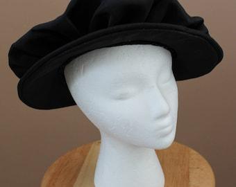 Black Tudor Prince Elizabethan Hat, King Henry, The Tudors Renaissance Medieval Costume,  Mens Cap, LARP Celtic SCA costume