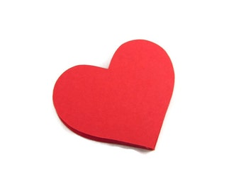 "2.25"" Heart Die Cuts set of 25"