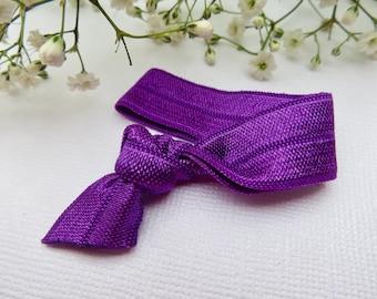 Ultraviolet elastic hair tie | hair elastic | hair bobble | bohemian bracelet
