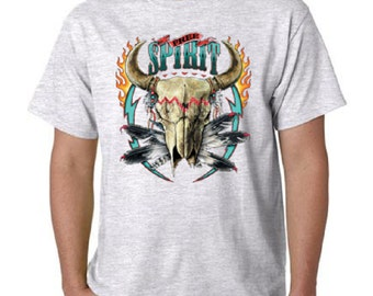 Free Spirit Native American T-Shirt All Sizes & Colors (1011)