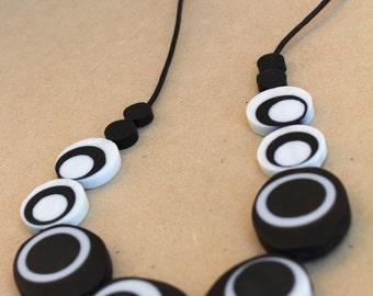 Funky Handmade Resin Necklace