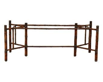 McGuire Rectangular Bamboo Dining Table