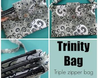 The Trinity Bag  - PDF Sewing  pattern