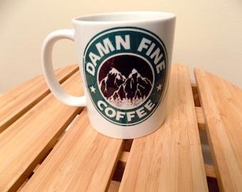 "Twin Peaks Inspired ""Damn Fine Coffee"""