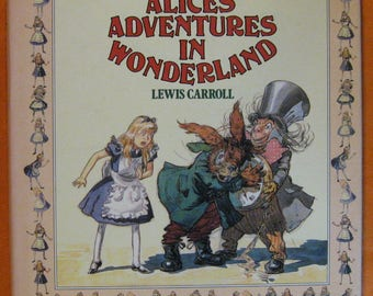 Alice in Wonderland by Lewis Carroll and David Hall