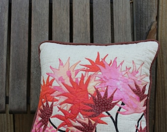 Small Japanese Maple Leaves Pillow