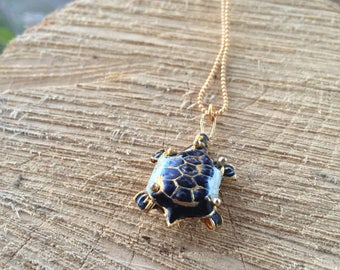 Turtle Necklace Gold | Sea Necklace | Animal Necklace | Sea Turtle Necklace | Tortoise Necklace | Jewelry Ideas Wife