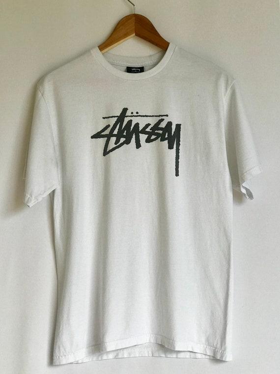 Sale!! Sale! Vintage Stussy Sweatshirt Basic Logo on Chest Simple Design O5IboAU8