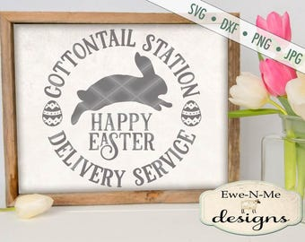 Easter SVG - Easter Bunny svg - Easter Egg SVG - bunny silhouette svg - bunny svg - happy easter svg - Commercial Use svg, dxf, png, jpg