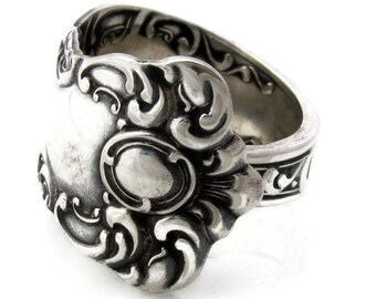 Spoon Ring Oxford Pattern