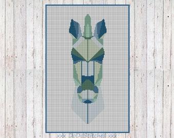 Horse Cross stitch pattern DIGITAL PDF (pattern only)