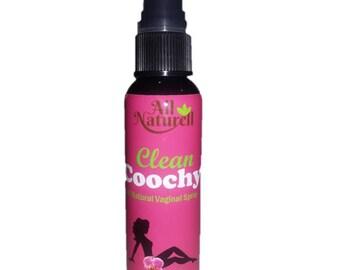 Clean Coochy All Natural On The Go Feminine Spray