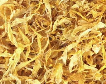 Calendula (Marigold) Flower Petals - Certified Organic