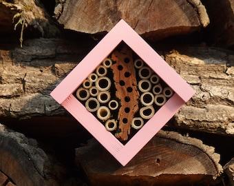 BEE HOTEL, Insect house, Mason bee home - Hotel Vagina Maxima