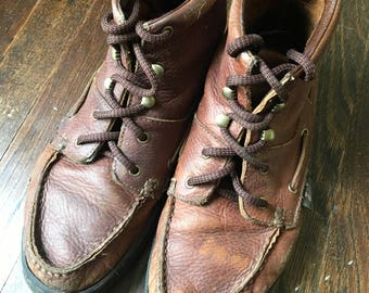 Vintage Leather Justin Boots
