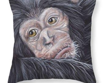 Chimp Pillow