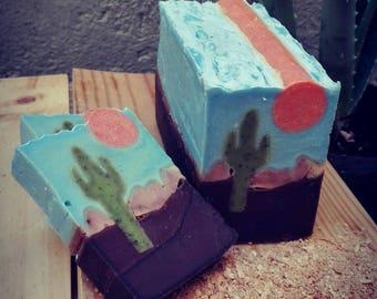 Soap landscape Desert of Sonora/Sonora Desert Landscape Soap