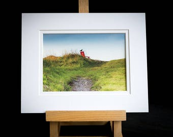 SALE || Original Art Print, Photographic Print on Bamboo Paper,  White Recycled 8x10 Mat, Ready to Frame, Wall Art