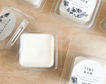 WAX SAMPLE Scented Soy Wax Melts | Soy Tarts, Soy Candle Melt, Scented Wax Cubes | Scent Shot