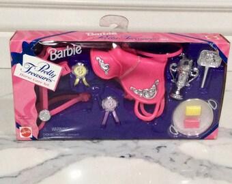 Barbie Pretty Treasures HORSE Care Set