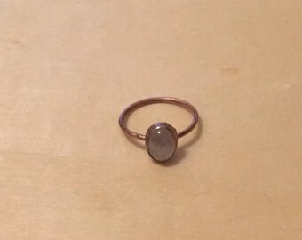 Rose Quartz Andrea Ring