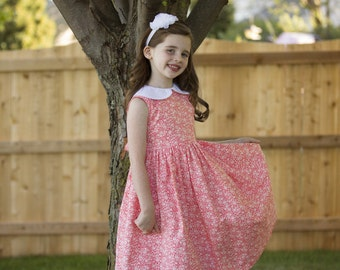 Girl's 1950's Summer Dress Sizes 2-10