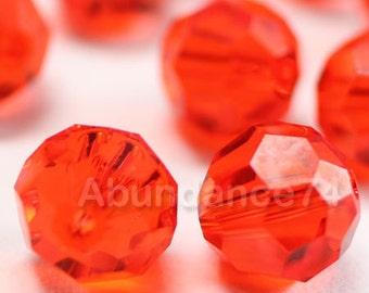 16 pcs Swarovski Elements - Swarovski Crystal Beads 5000 6mm Round Ball Beads - HYACINTH