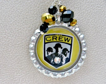 Columbus Crew SoccerNecklace, Columbus Crew Necklace, Columbus Crew Jewelry, Columbus Crew Soccer, Soccer Jewelry, Soccer Necklace, Soccer