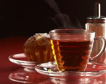 Tea Teabags 25 Orange Pekoe Decaffeinated Hand Blended black tea in teabags decaf