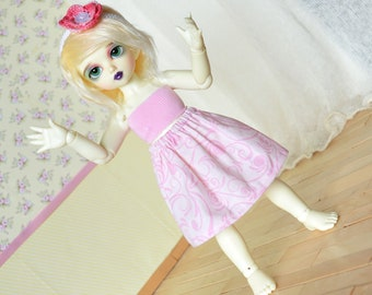 Doll Skirt - Pink #3 - YoSD LTF