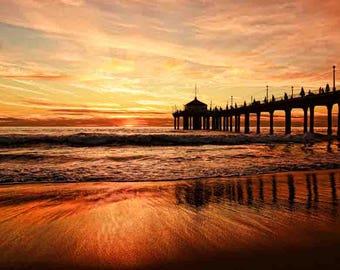 beach sunrise, coastal wall art, beach photography, beach decor, beach print, beach prints, wall art prints, beach decor print, large beach