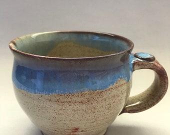 Big Blue Oatmeal Mug