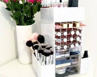 acrylic makeup organizer organiser storage Ligloss Tower