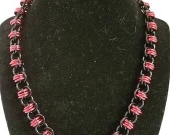 Barrel Weave necklace